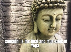 Yoga is Yoga samadhi